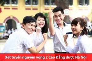 Xét tuyển nguyện vọng 2 Cao Đẳng dược Hà Nội