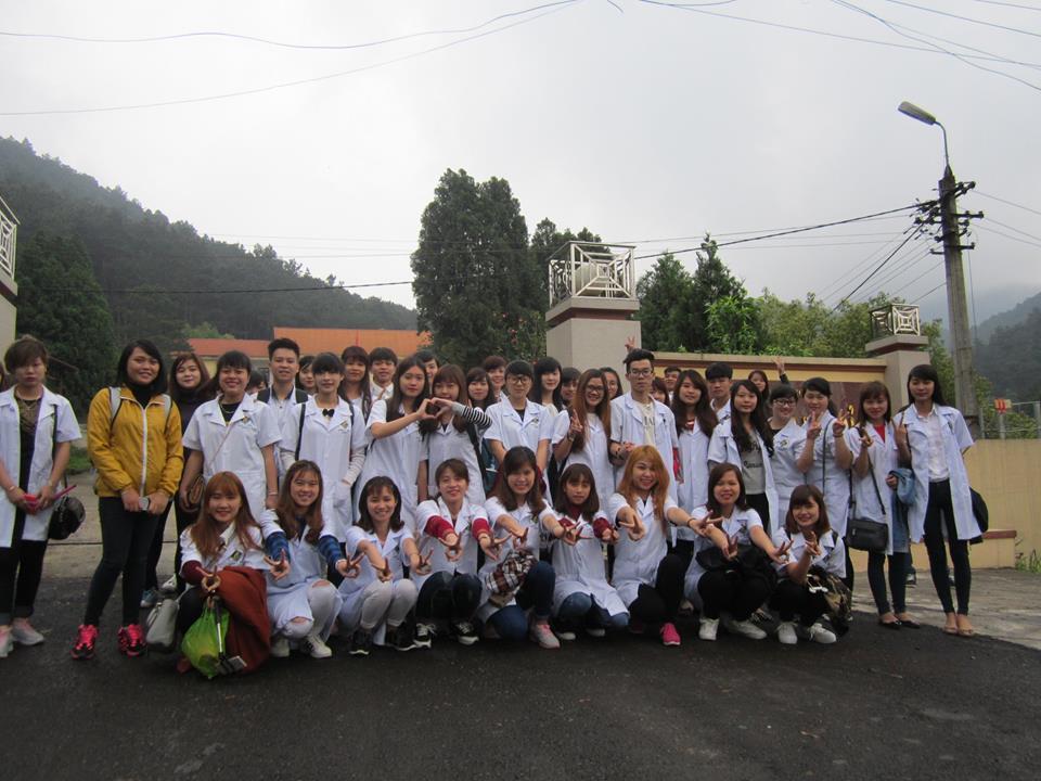 Sinh viên lớp D02 đi Tam Đảo