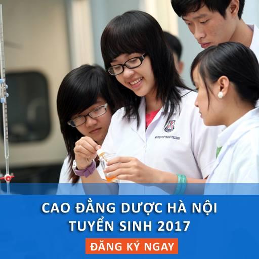 Cao đẳng Dược Hà Nội tuyển sinh 2018