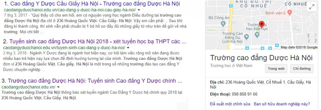 Tìm kiếm thông tin cao đẳng dược Hà Nội 236 Hoàng Quốc Việt