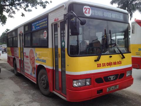 Xe bus tuyến 27