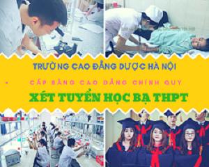 Trường cao đẳng Dược Hà Nội xét tuyển học bạ THPT