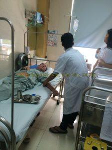 Thực hành sinh viên điều dưỡng tại bệnh viện E
