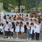 Tân sinh viên cao đẳng Dược Hà Nội đi dã ngoại