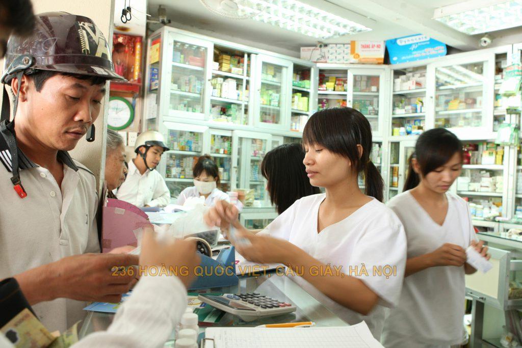 Hướng dẫn mở quầy thuốc bán lẻ