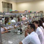 Sinh viên trường cao đẳng Dược Hà Nội