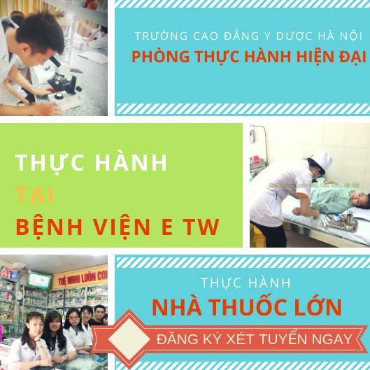 Học cao đẳng Dược Hà Nội thực tập bệnh viện nhà thuốc